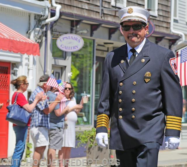 Chief Tom Shalvey Jr. - Suffolk Times Photo