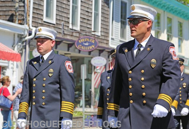 CFD Assistand Chiefs, Michael Boken and Amos Meringer Suffolk Times Photo
