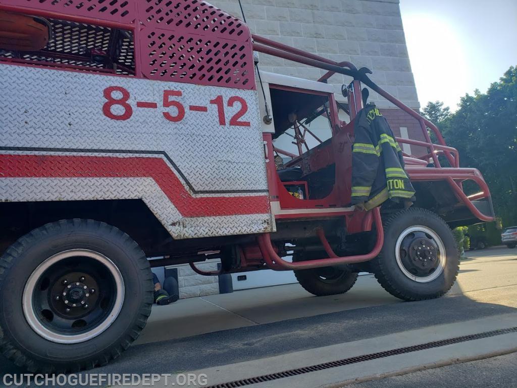 Brush Truck 8-5-12