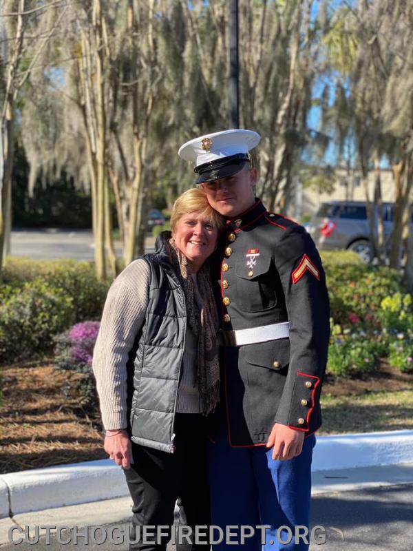 Brian and his mother Karen